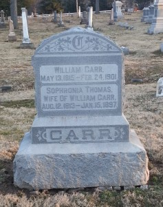 William and Sophronia Carr
