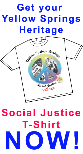 Support Yellow Springs Heritage and get your t-shirt now!