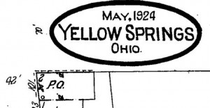In 1924, the Post Office was located on the corner of Dayton and Corry Streets, the current location of Williams' Eatery.