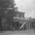 Circa 1890. Clark Grocery was located on Xenia Avenue, near the present day Earth Rose shop.